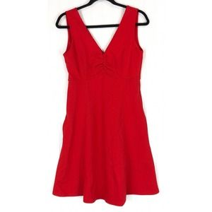 Kate Spade New York dress red ponte fit & flare